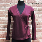 Vintage L/S Wrap Sweater by BCBG Max Azria