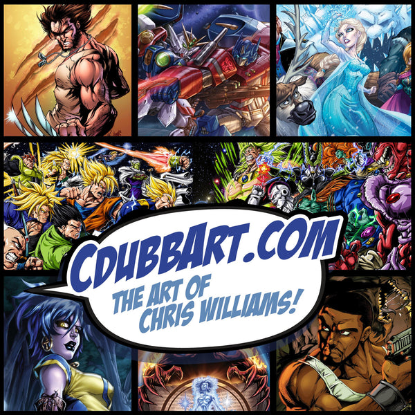 WELCOME TO CDUBBART.COM'S PREMIERE OPENING!