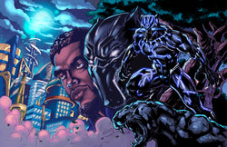Black Panther (Wakandan Warrior) Print