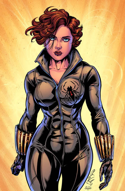 Black Widow Print - 11x17