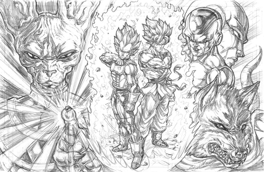 DBS (Dragon Ball Super) - Original Pencils