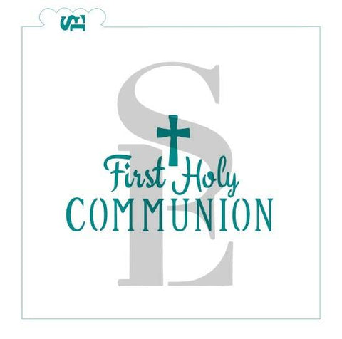 First Holy Communion / TMP Collaboration Stencil for Cookies, Cakes & Culinary