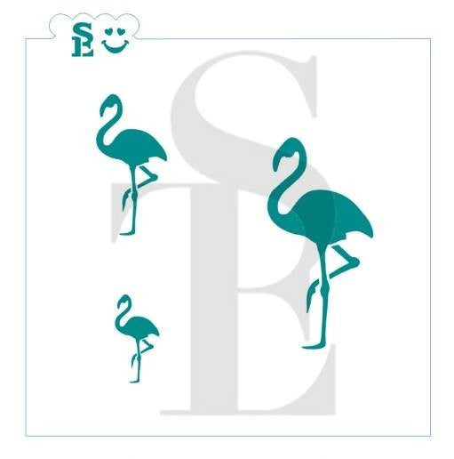 Flamingo Stencil for Cookies, Cakes & Culinary