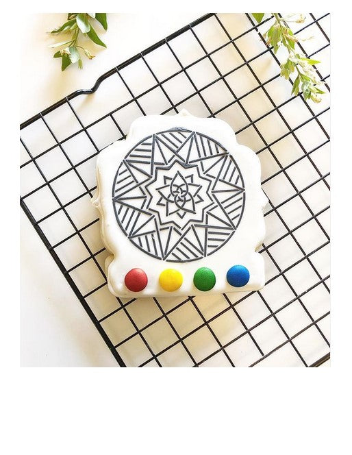 Mandala Art PYO Digital Design PYO cookie creation using this SE design by Yours Truly Cookies