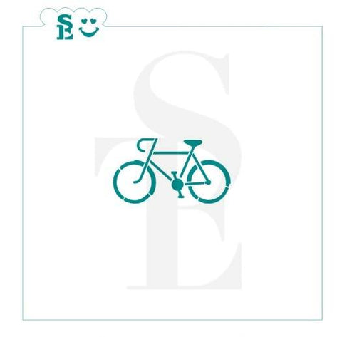 Bicycle 10-Speed Stencil for Cookies, Cakes & Culinary