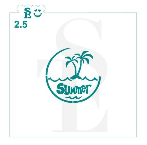 Summer Vacation Stencil Bundle for Cookies, Cakes & Culinary
