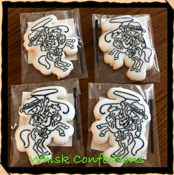 Cowboy PYO / TMP Collaboration Stencil for Cookies, Cakes & Culinary