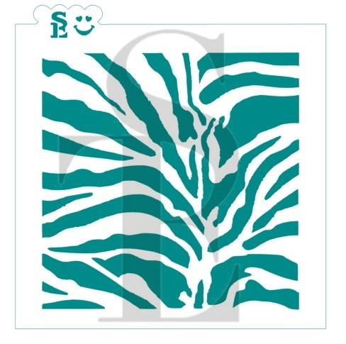 Animal Print Tiger Background Stencil for Cookies, Cakes & Culinary