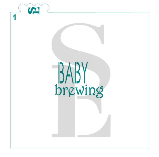 Baby Brewing #1 Digital Design