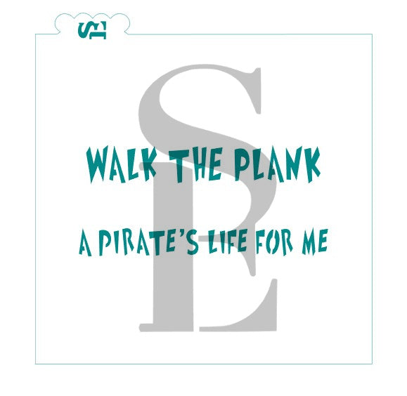 Pirate Sayings Bundle Digital Design