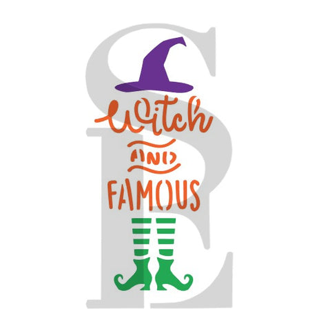 Witch and Famous Digital Sign Art Design