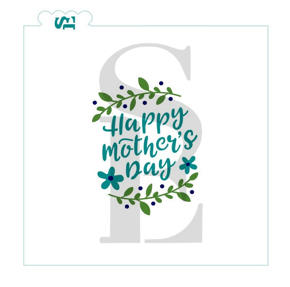 Happy Mother's Day #4, Single & Layered Digital Design