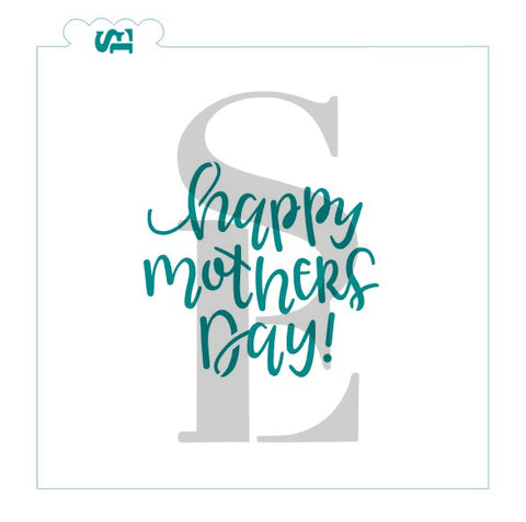Happy Mother's Day #2 Digital Design hand Lettered
