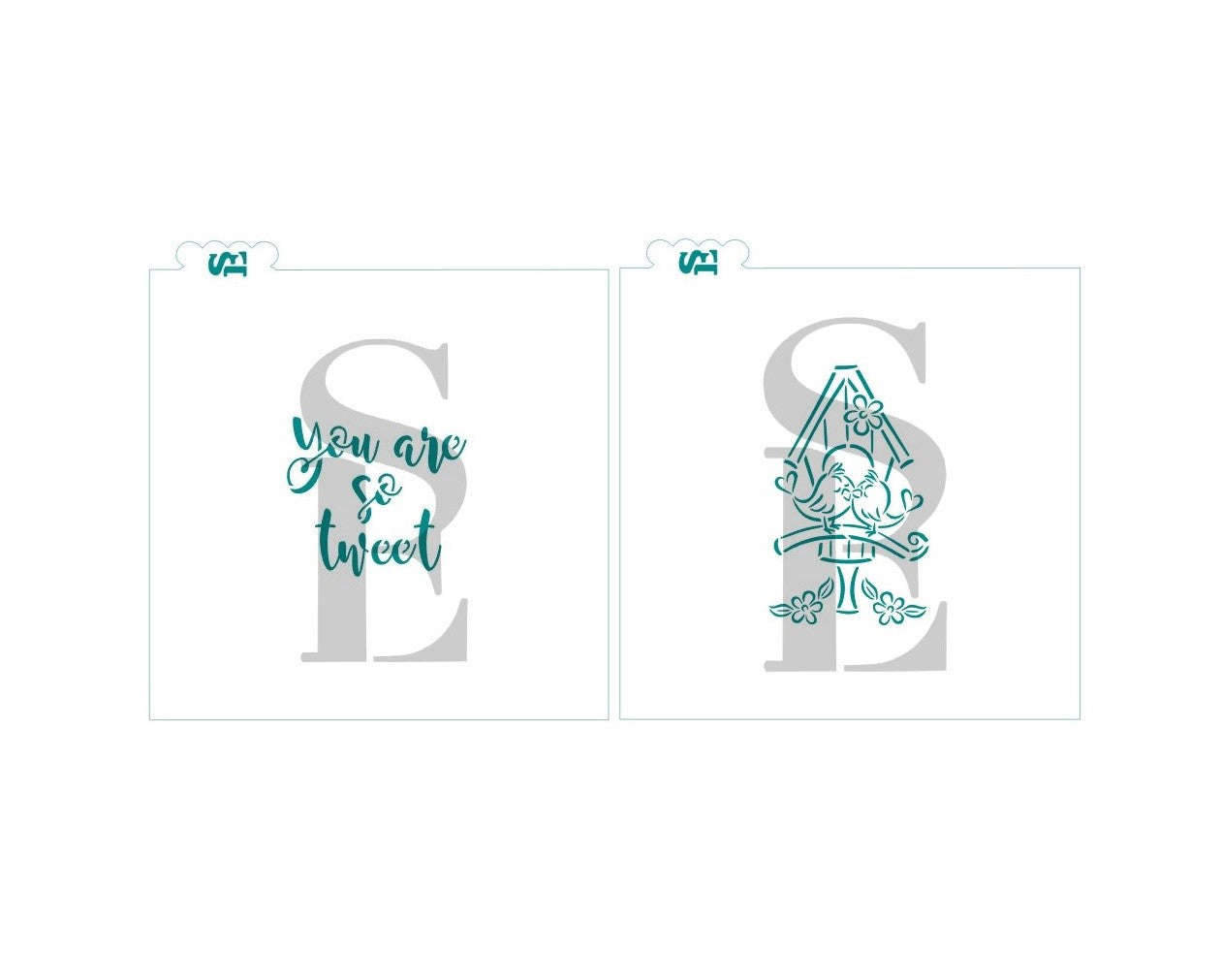 Bird House Love PYO / You Are So Tweet Sentiment Bundle Exclusive Digital Design Set