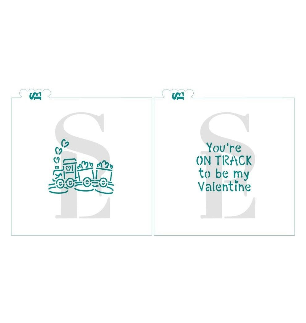 Love Train PYO & You're On Track To Be My Valentine Bundle Digital Design