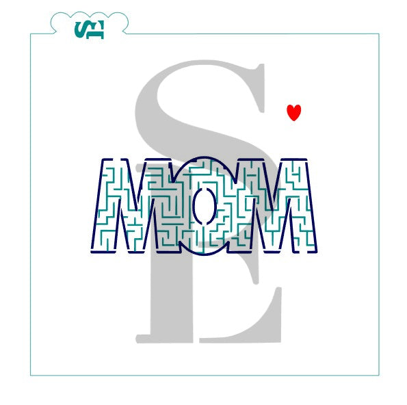 Mother's Day Interactive MOM Maze Digital Design