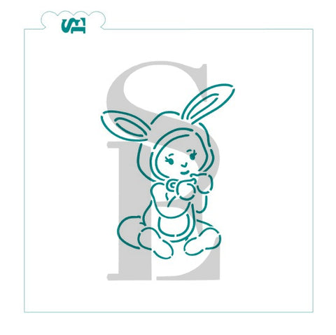 Easter Baby PYO Digital Download