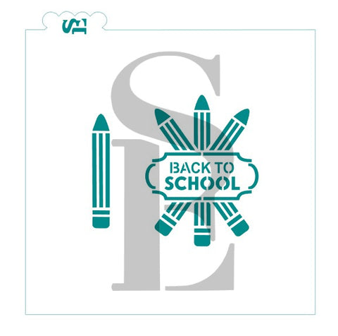 Back to School Pencils Digital Design