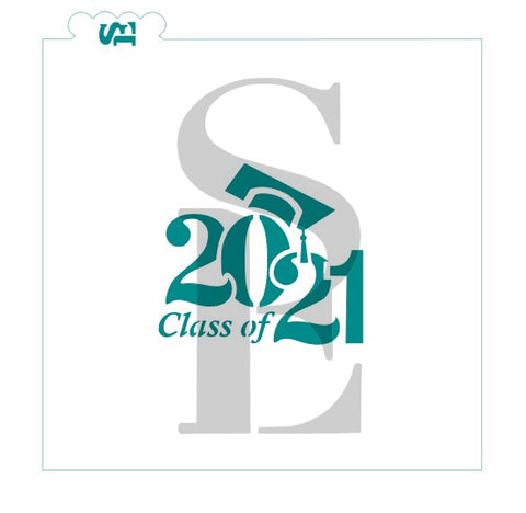 Class of 2021 #3 Grad Cap Digital Design