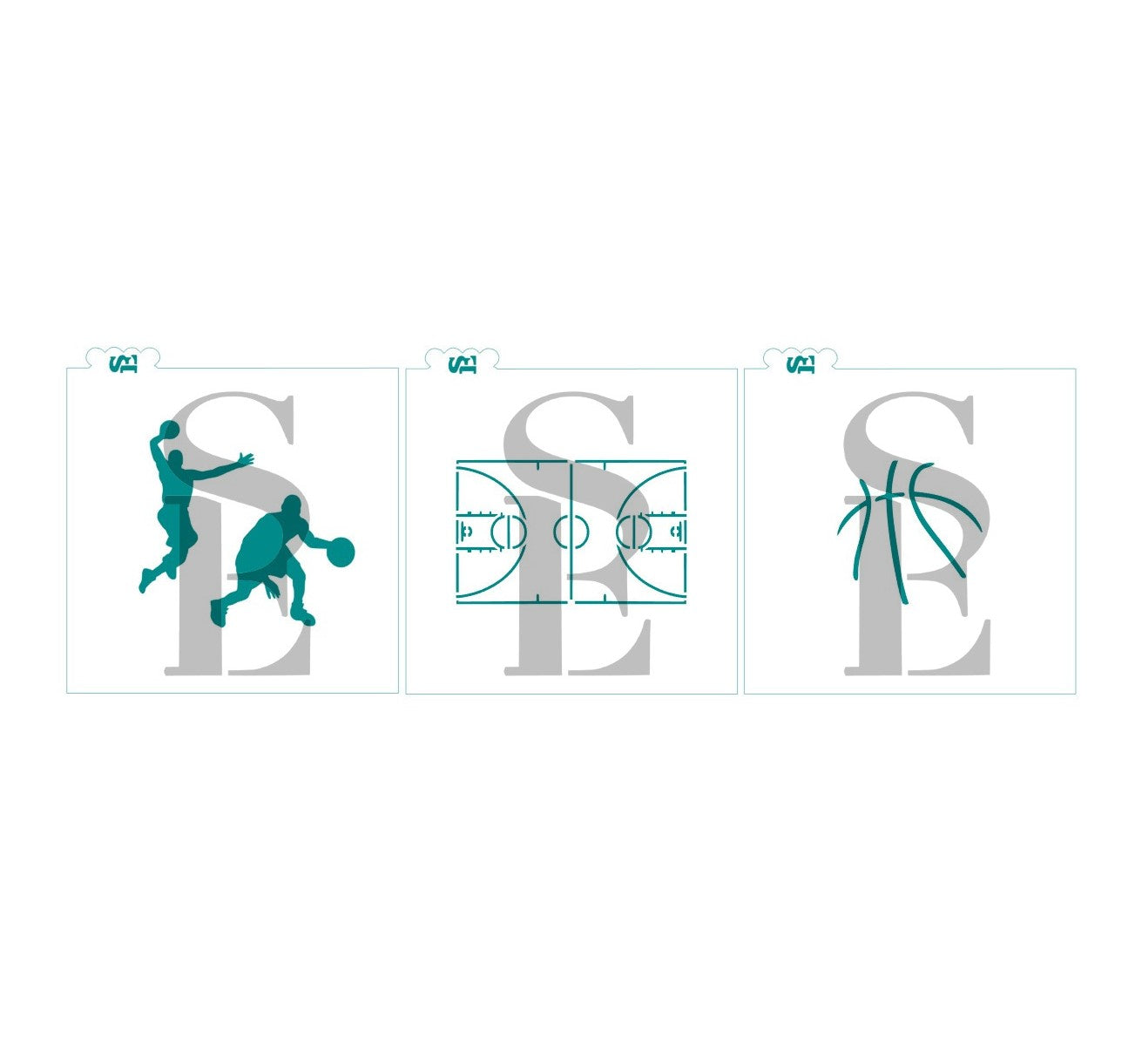Basketball Bundle Court Player Ball Digital Design