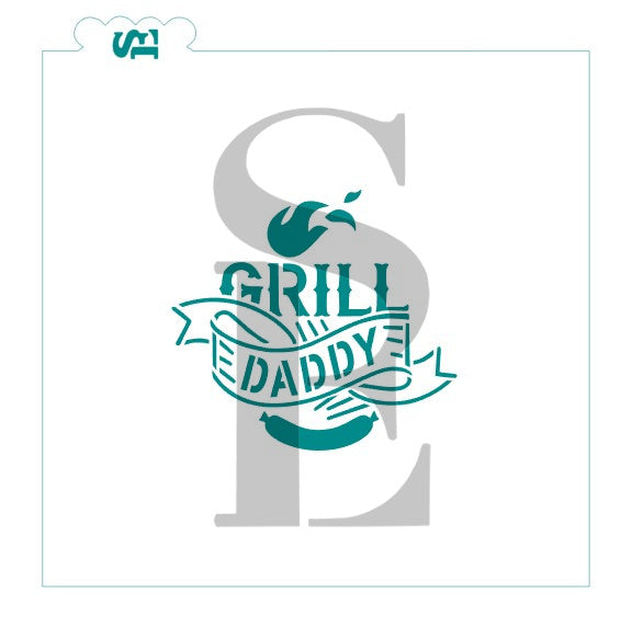 Father's Day Jumbo Bundle #2 - Simply A Dad Digital Designs Cookie Stencils Grill Dady