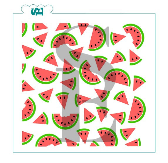 Watermelon Background 3 Layer Set Digital Design