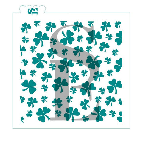 Shamrock Background Digital Design