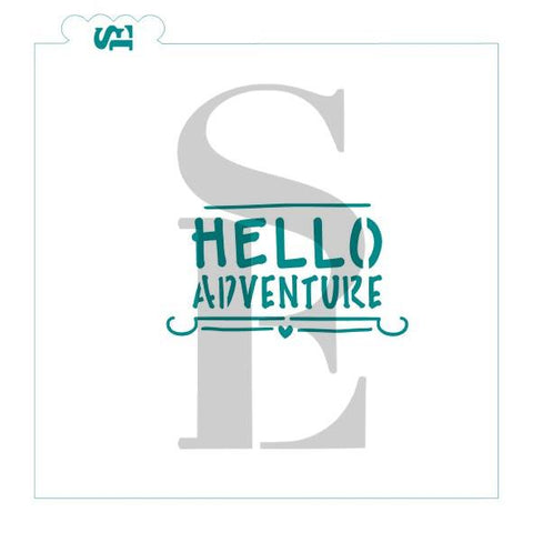 Hello Adventure Sentiment Digital Design