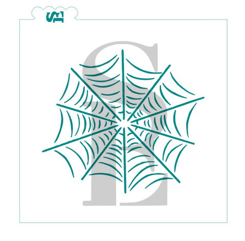 Spider's Web Background Digital Design