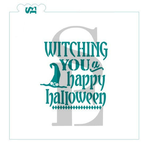 Witching You a Happy Halloween Digital Design