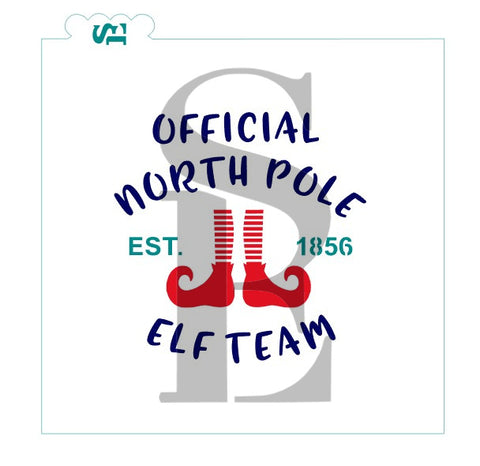North Pole Elf Team Digital Design