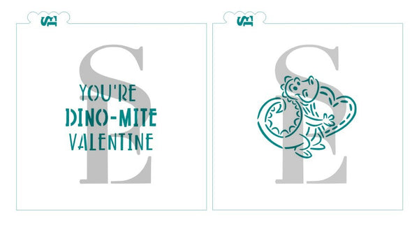 You're DINO-MITE Valentine for Cookies, Cakes & Culinary