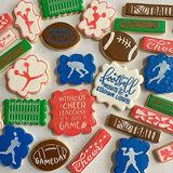 Football Cookie stencils variety by Stencil Expressions Wish Upon A Cookie TX