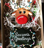 Season's Greetings Stencil for Cookies, Cakes & Culinary