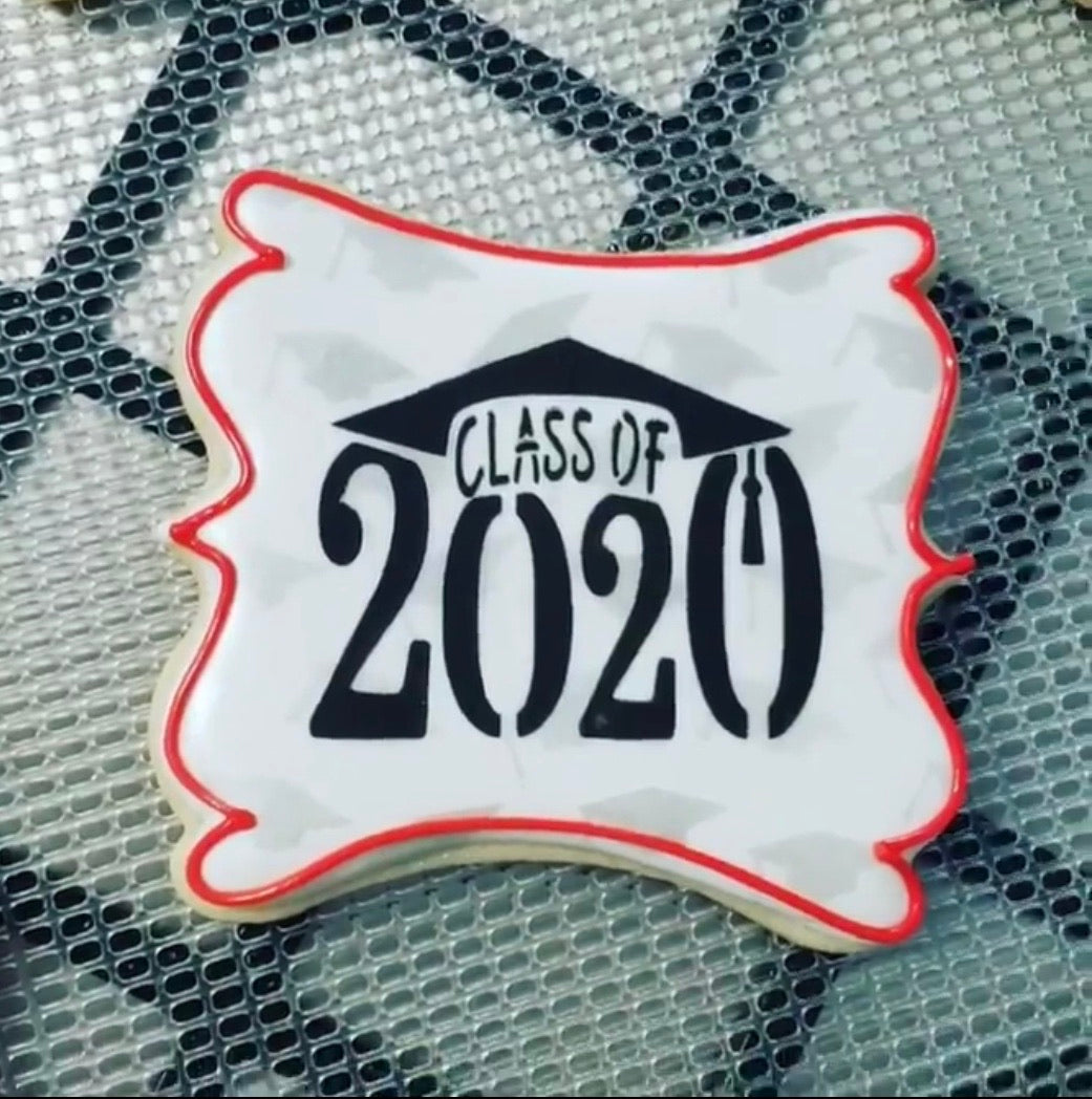 Class of 2021 or 2022 #1 Cap Digital Design
