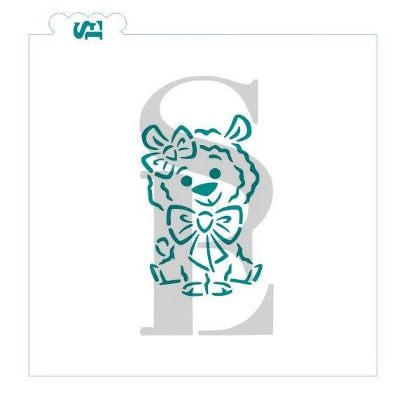 DRAWN By Krista Cutest Llamas Ever, PYO Exclusive Stencil Bundle for Cookies, Cakes & Culinary