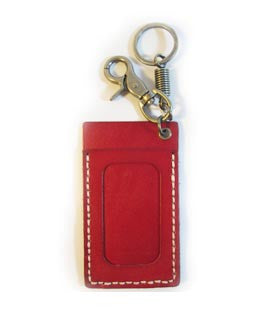 Basel Card & ID Holder w Key Hook
