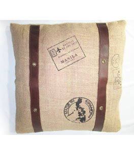 Faro Vintage Throw Pillow Case