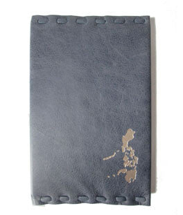 Vigan Handstitched Leather covered Address Book