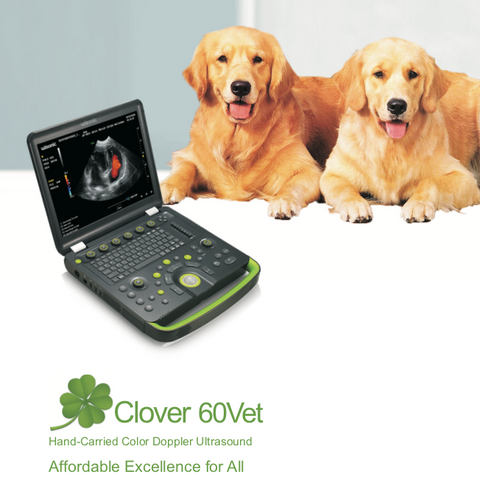 Wisonic Clover 60Vet Ultrasound Unit