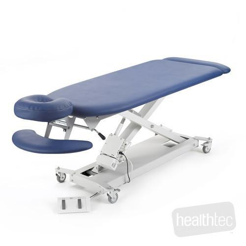 Healthtec Massage table, electric height adjustment from Interaktiv Health