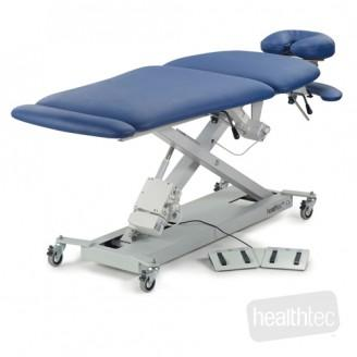 Healthtec SX Massage table with Mid Lift and wheels