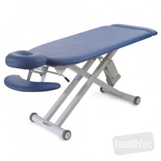 Healthtec SC power lift contoured massage table at Interaktiv health