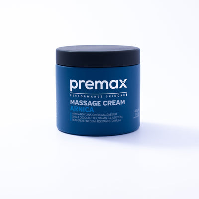 Premax Arnica is a silky-smooth premium massage cream loaded with ingredients that assist in the recovery from sports and injury. In a medium resistance formula, Premax Arnica offers exceptional workability and an unrivalled treatment experience for athletes and clients.