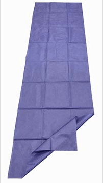Disposable Bed Sheet Non Fitted Navy Blue