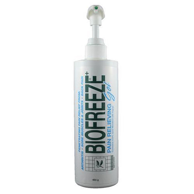 Biofreeze is the Number 1 recommended topical pain reliever by hands-on healthcare professionals. Biofreeze products use the cooling effect of menthol, a natural pain reliever, which penetrates quickly to sooth minor muscle and joint pain.