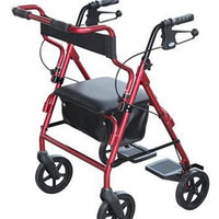 2 IN 1 WALKER WHEELCHAIR TRANSIT ROLLATOR AT INTERAKTIV HEALTH