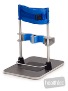 dynamic standing frame for assisted standing of children with handicaps