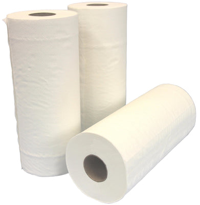 Paper Towel Roll- Versatile 24.5cm x 50M Perforated- Carton 12-Medical Industries-InterAktiv Health