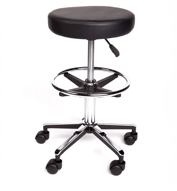 gas Lift Stool with Foot ring at InterAktiv Health